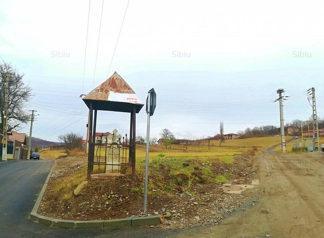 Teren intravilan, 640 mp, Gusterita, str. Gorunului, cu PUZ - Sibi - imaginea 1