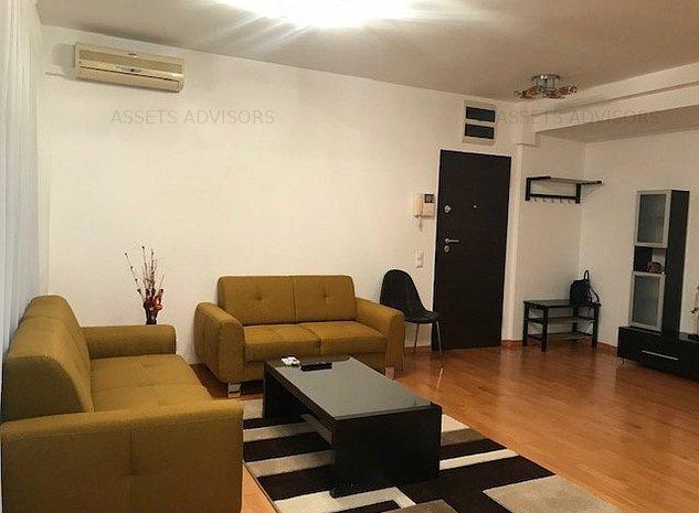 Apartament spatios 2 camere de inchiriat- Rond OMV Pipera - imaginea 1