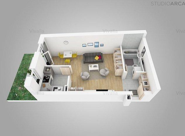 NOU Ap. cu 1 camera in complexul rezidential Vivalia V6 - langa Iulius Town - imaginea 1
