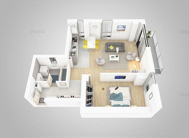 Apartament 2 camere, bloc nou, Vivalia Grand V5 - imaginea 1