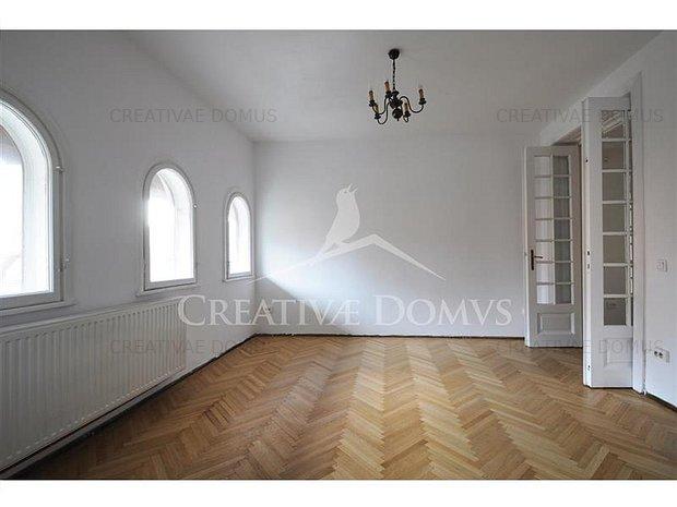 Inchiriere etaj de vila in Dorobanti, Capitale, 4 camere, 121 mp - imaginea 1