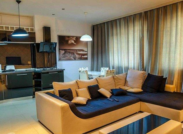 Apartament 2 camere LUX, Tomis plus, loc parcare - imaginea 1