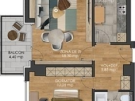 Apartament de vânzare 2 camere, în Iaşi, zona Păcurari