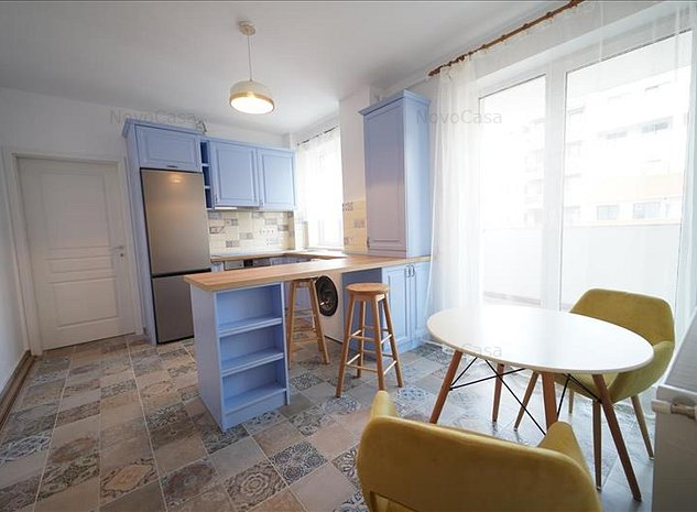 Apartament 2 camera de inchiriat in P-ta Abator zona I Quest - imaginea 1