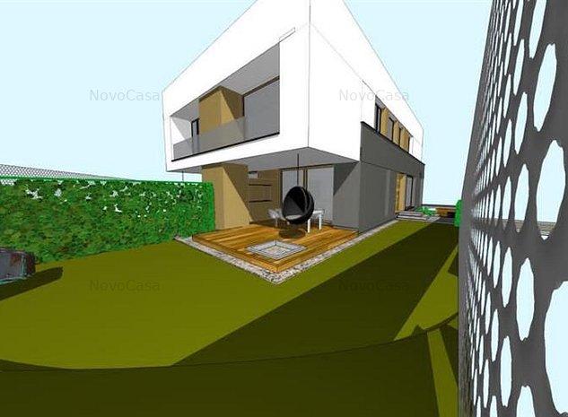Casa NOUA tip duplex cu GARAJ, zona Tineretului, Voronet - imaginea 1