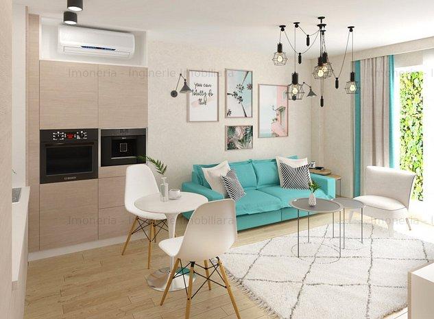 2 camere inteligente | TIP 3 | Smart Boutique Apartments - imaginea 1