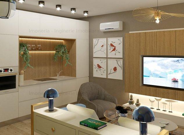 Smart Boutique Apartments | 2 camere inteligente TIP 4 - imaginea 1