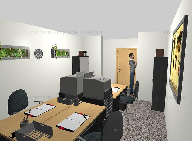 Inchiriere birou Tip 1 | Mizil Custom Offices - imaginea 1
