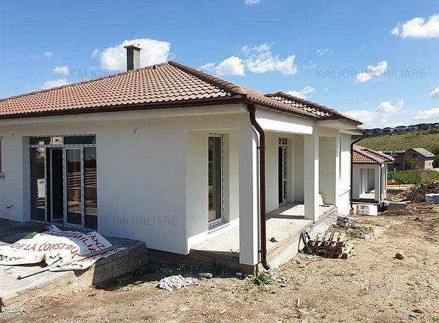 Casa pe un singur nivel 120mp cu teren de 500mp in Dezmir - imaginea 1