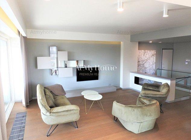 Superb apartament de tip duplex, finisaje de lux, paracare subterana - imaginea 1