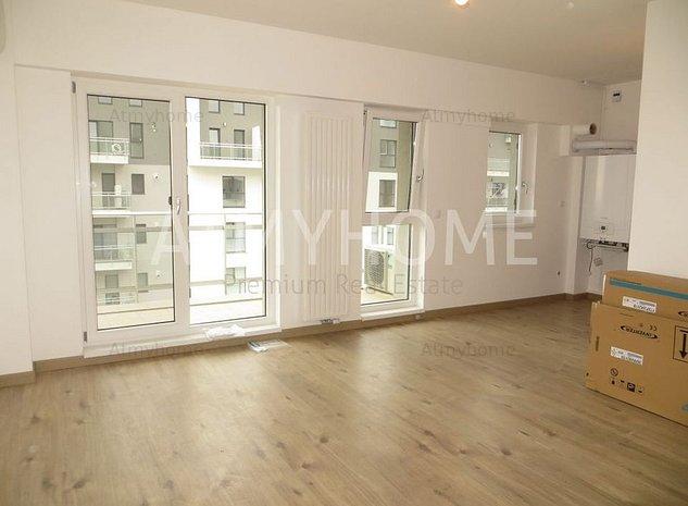 Apartament NOU, modern cu 2 camere, Nemobilat, terasa, parcare, INVESTITIE - imaginea 1