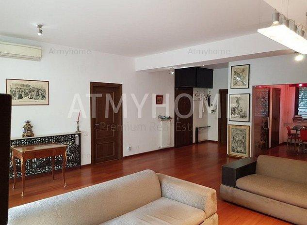 Apartament spatios cu 4 camere, mobilat, finisaje premium, parcare, curte 115mp - imaginea 1