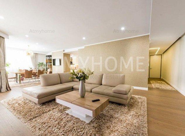 Apartament Superb spatios si luminos cu 4 camere, mobilat lux, terase, 2 parcari - imaginea 1