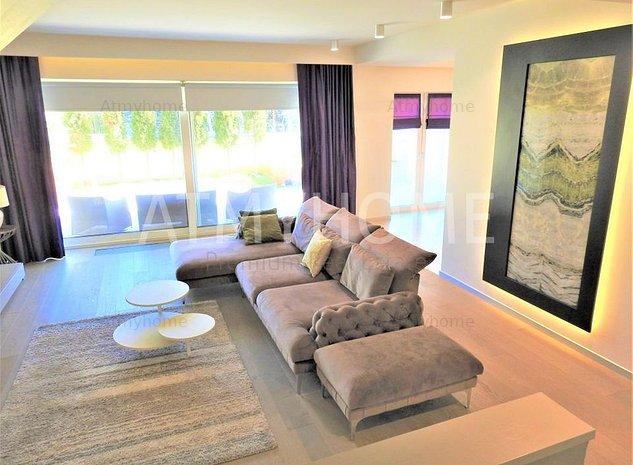 Superb apartament de tip duplex, finisaje de lux, parcare subterana - imaginea 1