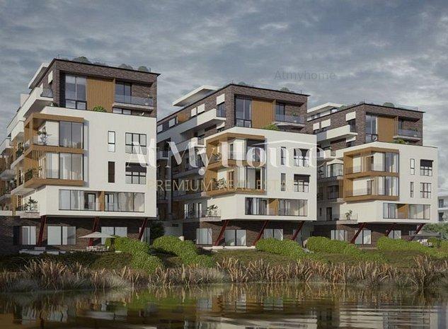 BELAIR LAKE, Apartament NOU cu 3 camere, Locatie PREMIUM, Finalizare Sept 2021 - imaginea 1