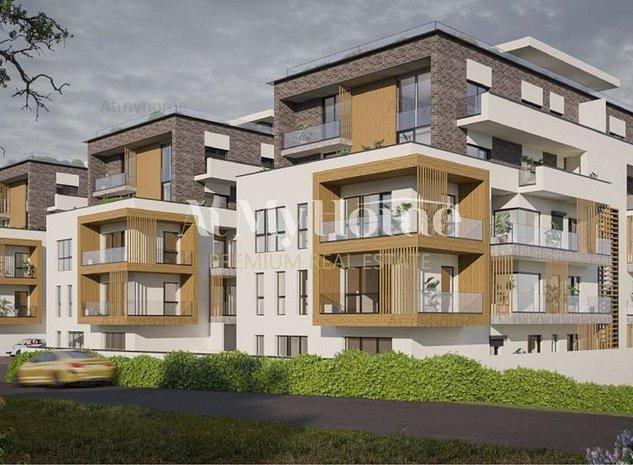 BELAIR LAKE, Penthouse NOU cu 3 camere, Locatie PREMIUM, Finalizare Sept 2021 - imaginea 1