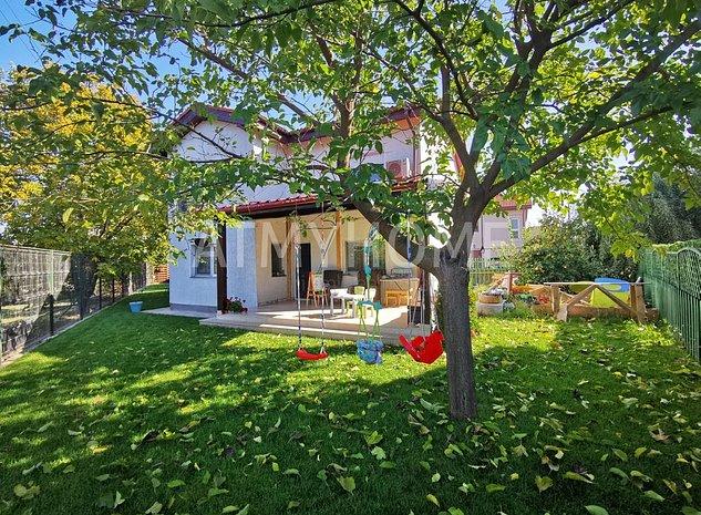 Vila cu 5 camere, cartier rezidential, RENOVATA RECENT,508mp teren - imaginea 1