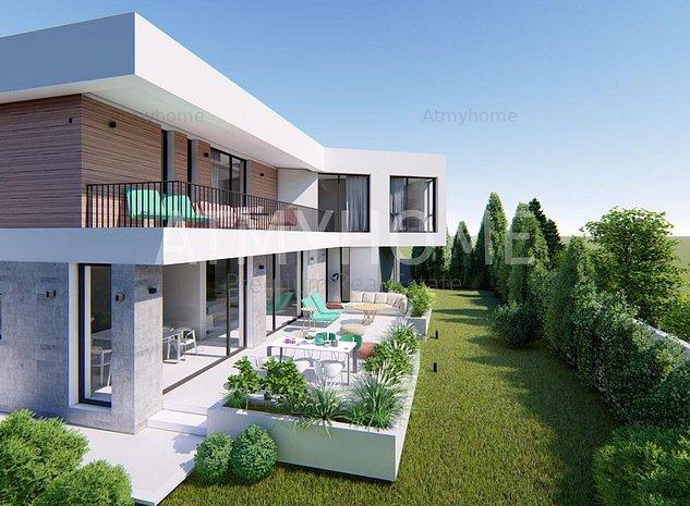Vila Moderna< NOUA, piscina exterioara, garaj dublu - imaginea 1