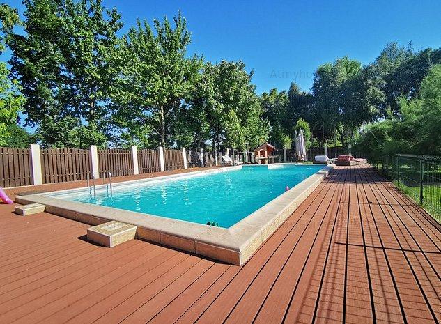 Vila Spatioasa cu piscina, gradina 1200mp - imaginea 1