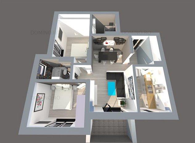 Apartament 3 Cam, CF, PARK LAKE, Priveliste Spre Lac - imaginea 1