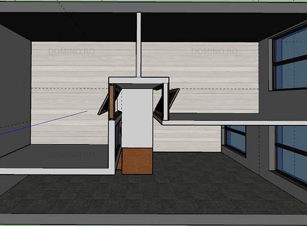 Spatiu Birouri,3 Cam/Open Space, Bloc Nou, Semicentral, Pta Abator - imaginea 1