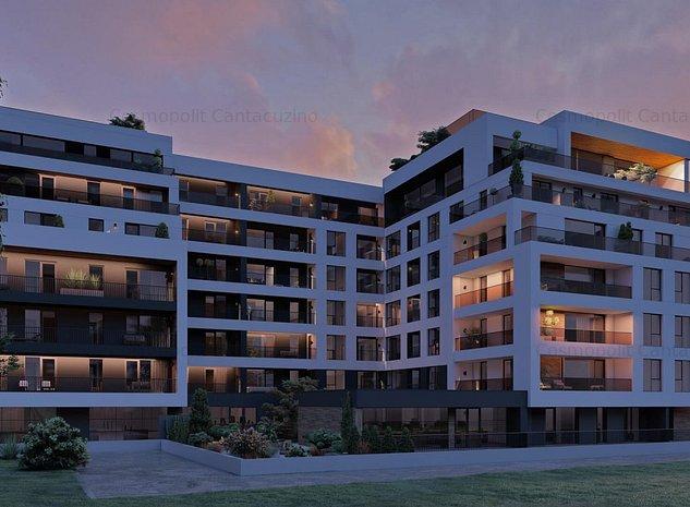 Apartament 3 camere Central Cosmopolit Traian Grozavescu No 7 - imaginea 1