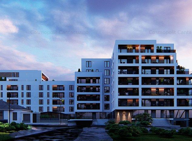Apartament 2 camere Cosmopolit Mihai Viteazul 1-3, vedere spre zona centrala - imaginea 1