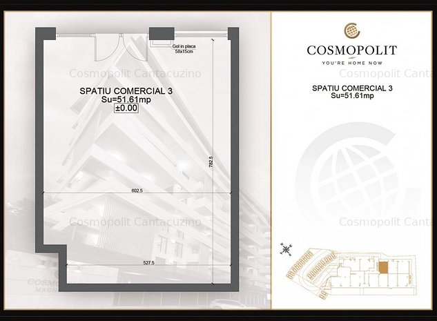 Cosmopolit, birouri zona RAcadau - imaginea 1
