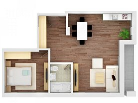 Apartament de vânzare 2 camere, în Mamaia-Sat, zona Ultracentral