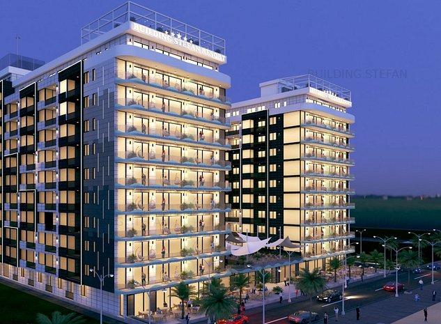 Apartament 2 camere decomandat,primul rand la mare #Building Stefan 118 Sc.B - imaginea 1