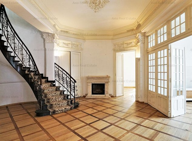 Vila clasica pentru sediu companie, rezidenta - Victoriei - Romana - imaginea 1