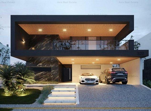 Vila Smart cu piscina | Zona Pipera | Lux - imaginea 1