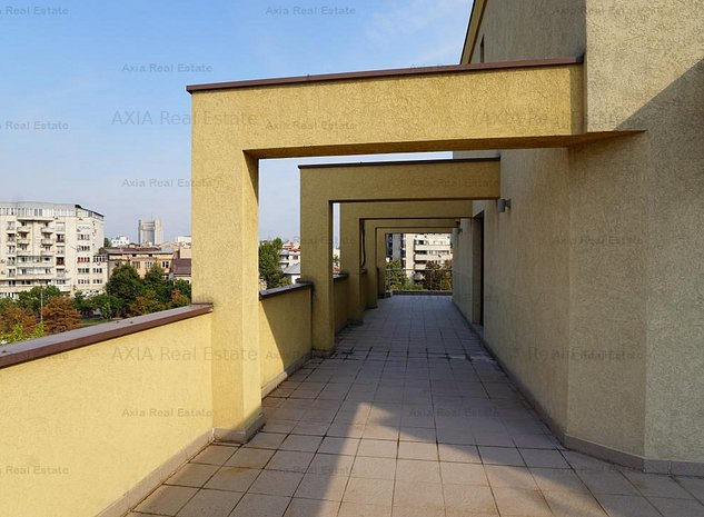 Spatiu birou Unirii cu terasa, 6 birouri - 170 mp utili - imaginea 1