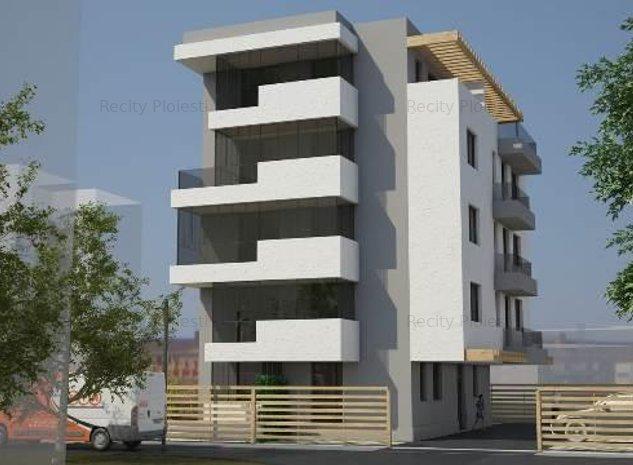 Vanzare apartament 2 camere Malul Rosu Ploiesti bloc nou - imaginea 1