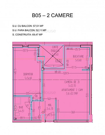 2camere La Cheie - Solid Residence Jadului Zona Campus - imaginea 1