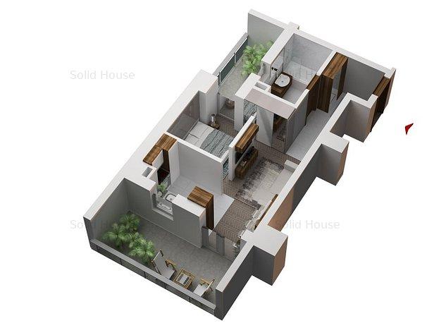 Solid House-Studio de Lux la cheie in Faleza Nord - Sistem Smart Home - imaginea 1