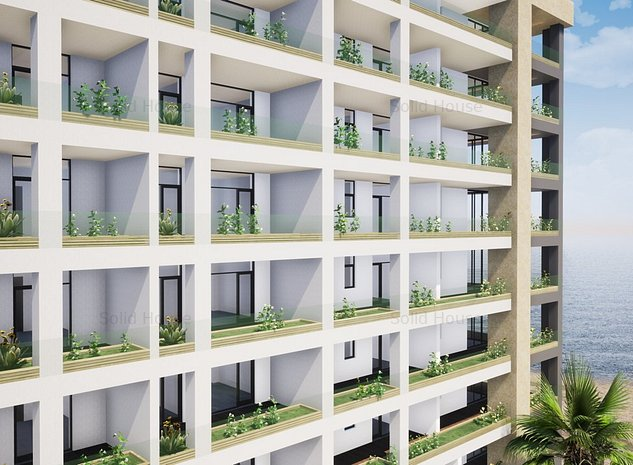 Faleza Nord Solid Residence 3 camere La Cheie Inclus Sistem Smart Home - imaginea 1