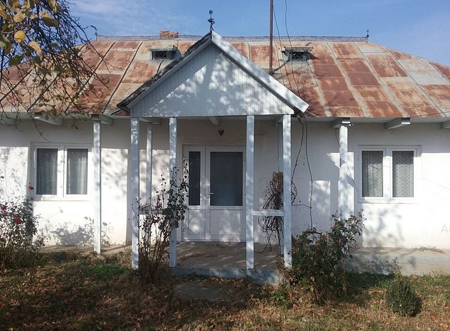 Casa si teren 2.898 mp com. Vaculesti, jud. Botosani ID 16508 - imaginea 1