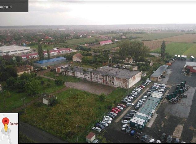 Spatiu industrial situat in Pecica, jud. Arad - imaginea 1