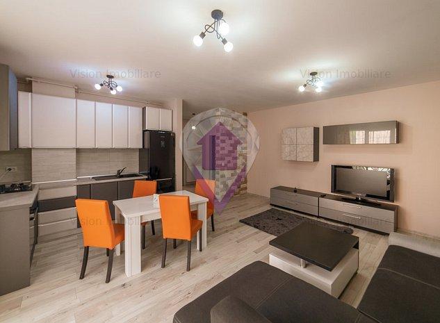 Dormitor + living | 54 m2 | modern | bloc nou | parcare subterană | Zorilor - imaginea 1
