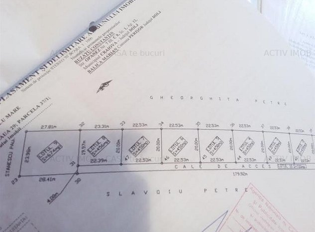 Intravilan, 456 mp, 22 mp - Preajba - Pub Smart - imaginea 1
