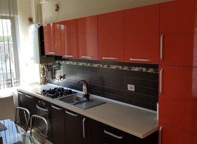 Apartament 2 camere, Gavana 3, bloc nou, mobilat, centrala - imaginea 1