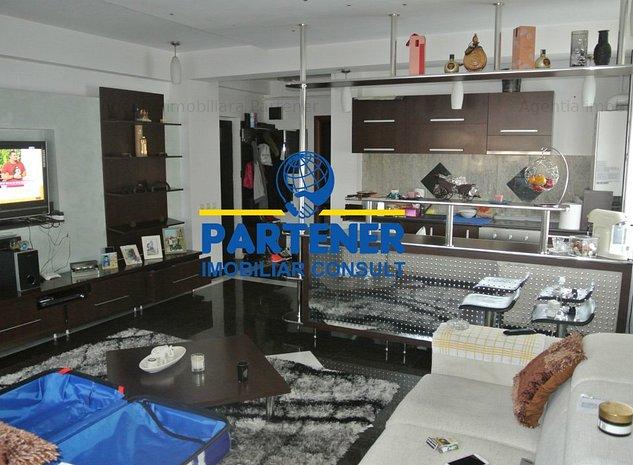 Apartament 2 camere, Trivale, bloc nou, mobilat, centrala - imaginea 1