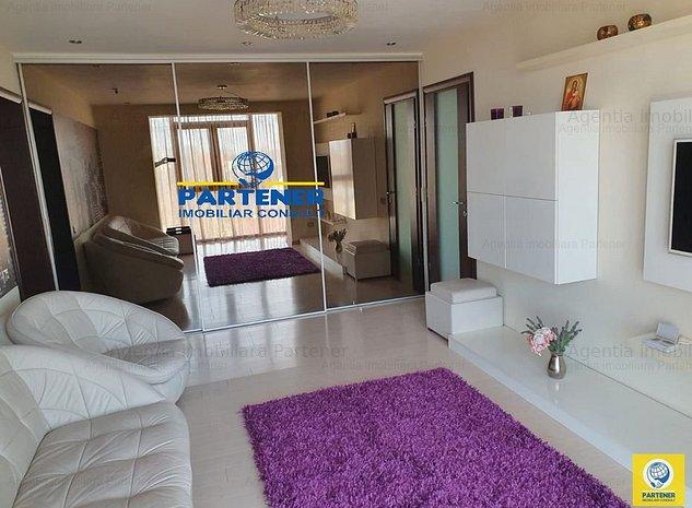 Apartament 3 camere, Marasesti, etaj 2, mobilat, centrala - imaginea 1