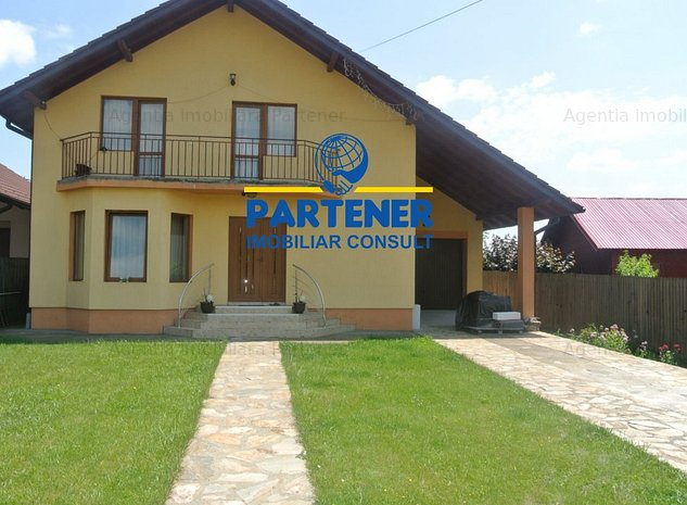 Vila P+E, Bascov- Valea Ursului, teren 500mp, mobilata - imaginea 1