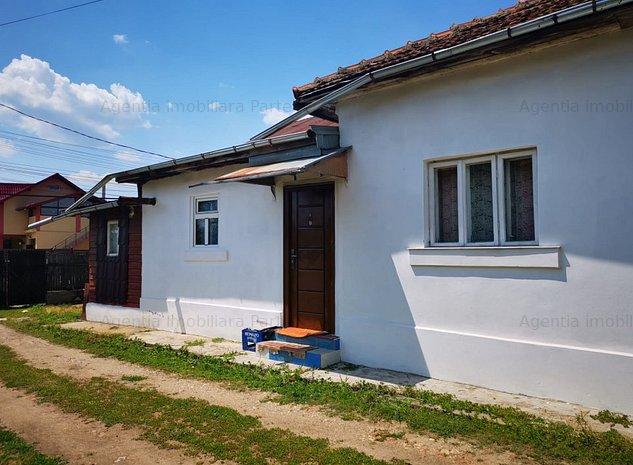 Casa 2 camere, Mosoaia-Hintesti, teren 1.257 mp - imaginea 1