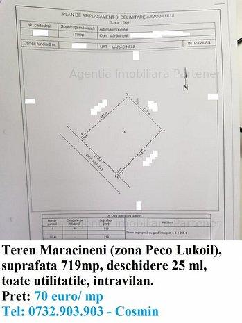 Terenuri Maracineni, diverse suprafate - imaginea 1