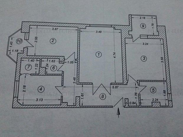Apartament 3 decomandate-FALEZA NORD-A2-4541 - imaginea 1