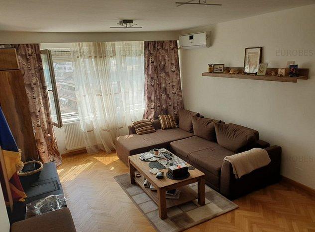Sala Palatului, Ion Campineanu, inchiriere apartament 2 camere, modern mobilat, - imaginea 1