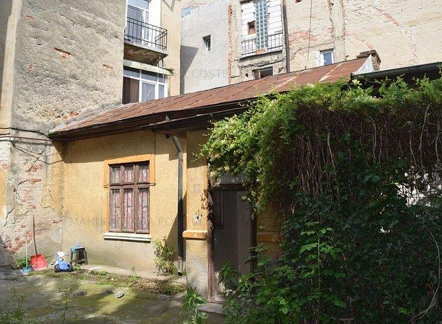 Eminescu casa individuala pe pamant, demolabila in curte comuna - imaginea 1